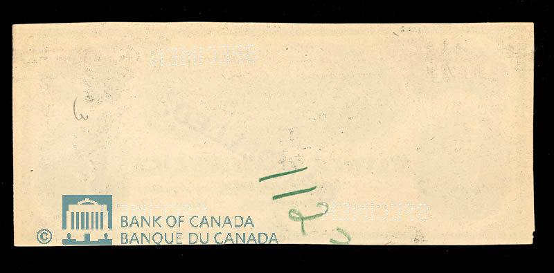 Canada, Banque d'Hochelaga, 5 piastres : June 1, 1894
