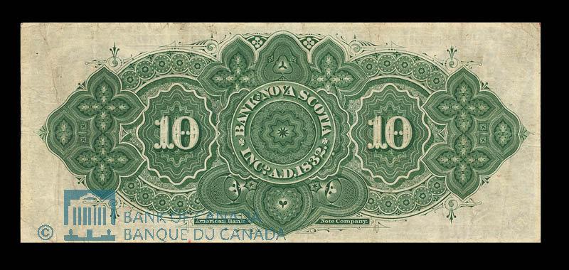 Canada, Bank of Nova Scotia, 10 dollars : January 2, 1903