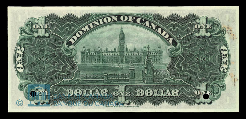 Canada, Dominion of Canada, 1 dollar : January 3, 1911