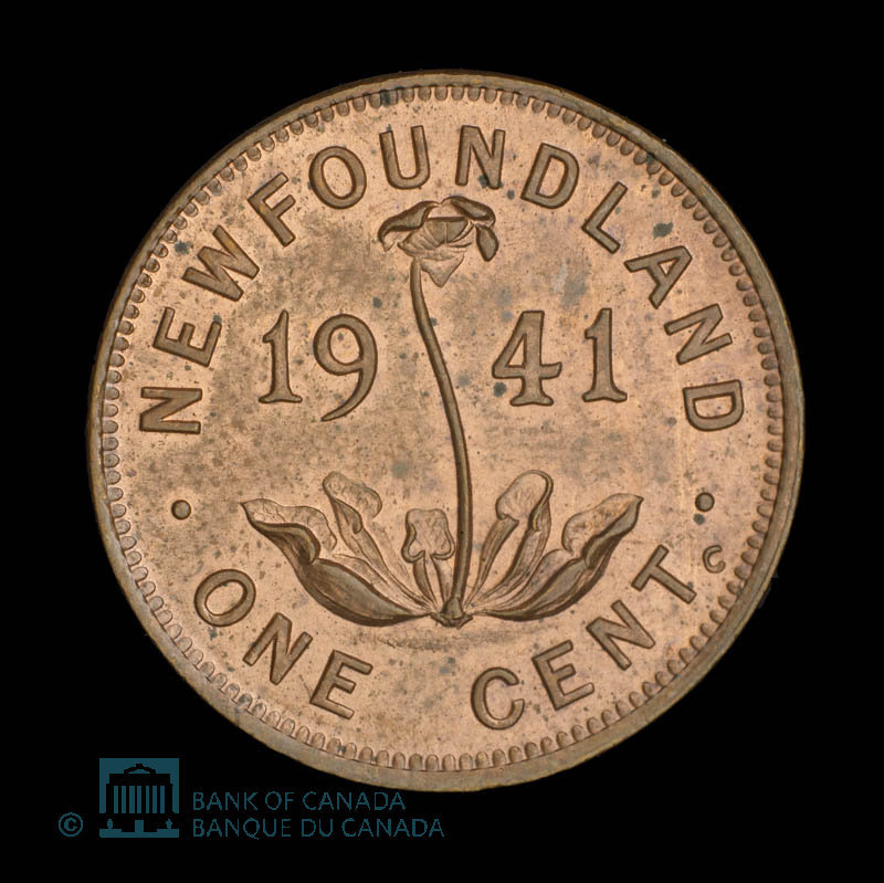 Canada, George VI, 1 cent : 1941