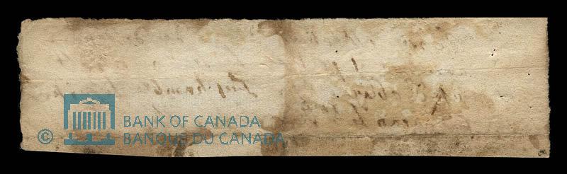 Canada, Charles LeGardeur de Tilly, 20 livres : March 6, 1678