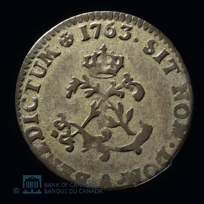 France, Louis XV, 2 sous : 1763
