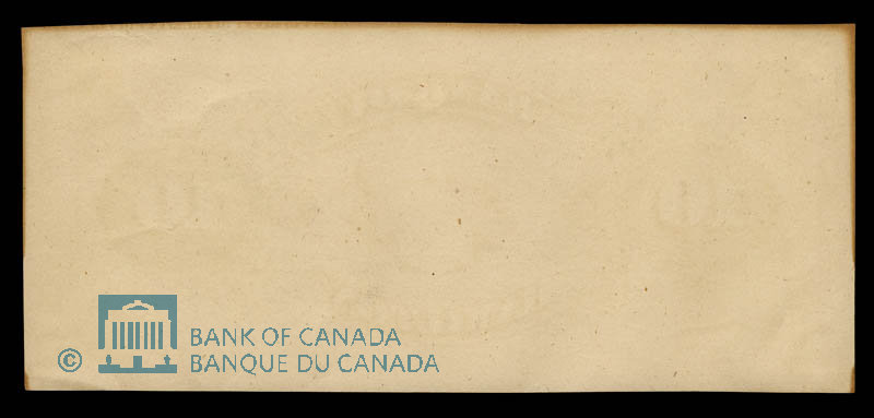 Canada, Bank of British North America, 50 dollars : July 3, 1877