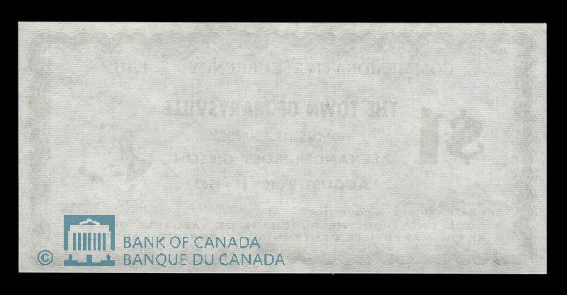 Canada, Town of Marysville, 1 dollar : 1962