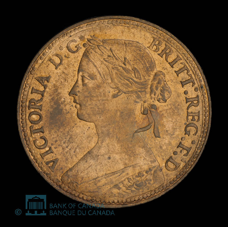 Great Britain, Victoria, 1 farthing : 1860
