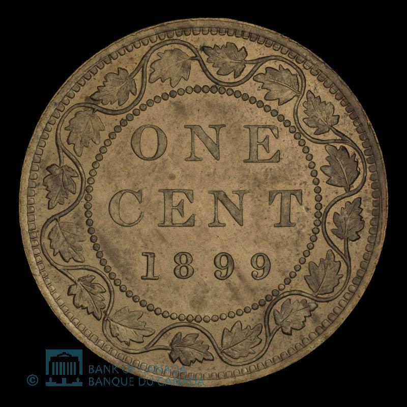 Canada, Victoria, 1 cent : 1899