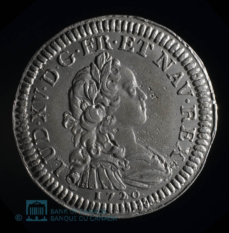 France, Louis XV, 20 sols : 1720
