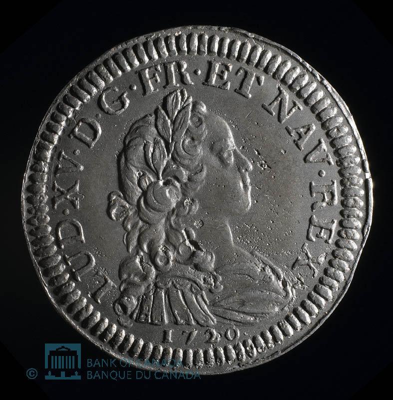 France, Louis XV, 20 sols : 1720