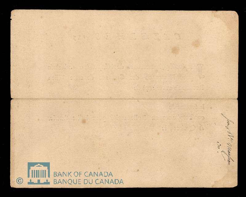 Canada, French Colonial Authorities, 30 sols : March 1, 1754