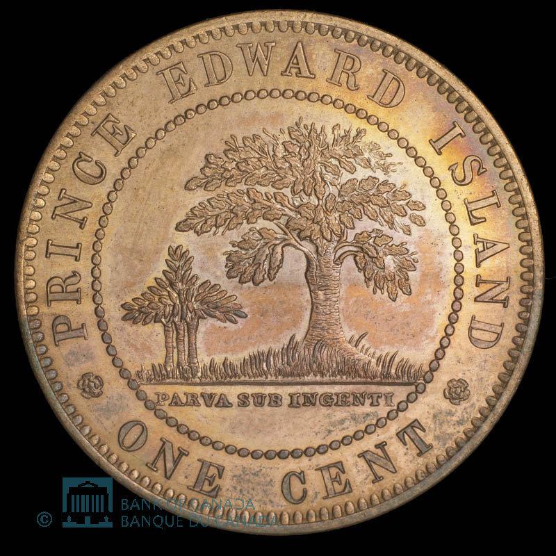 Canada, Victoria, 1 cent : 1871