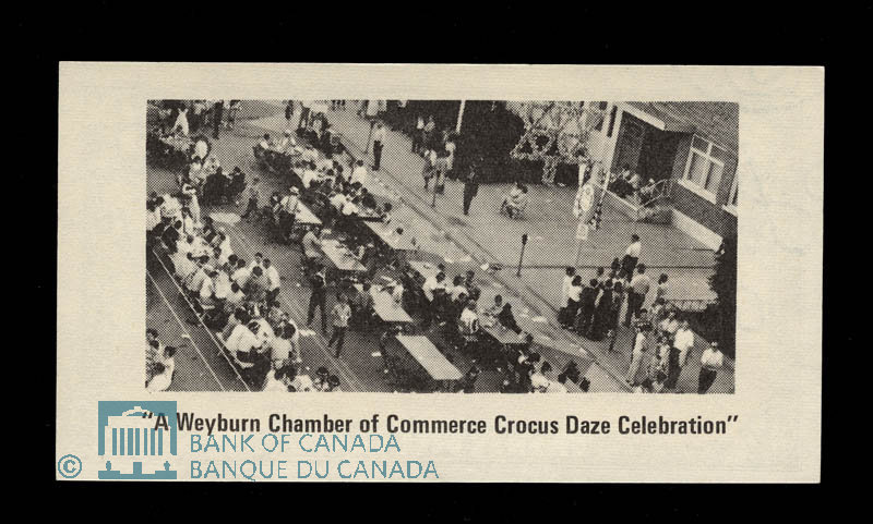 Canada, Weyburn Chamber of Commerce, 25 cents : December 1, 1969