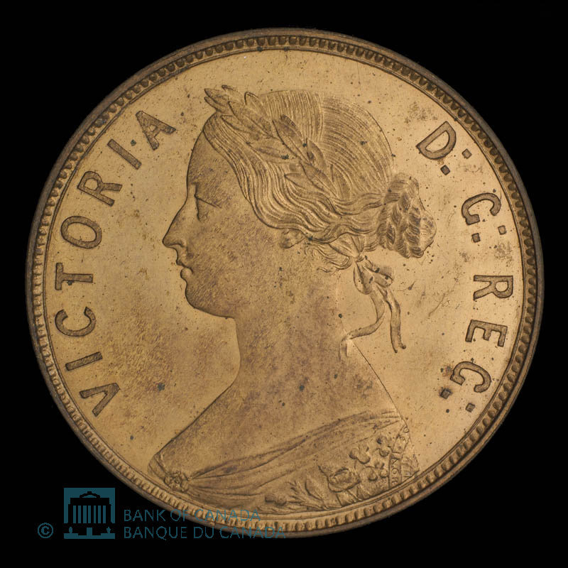 Canada, Victoria, 1 cent : 1880