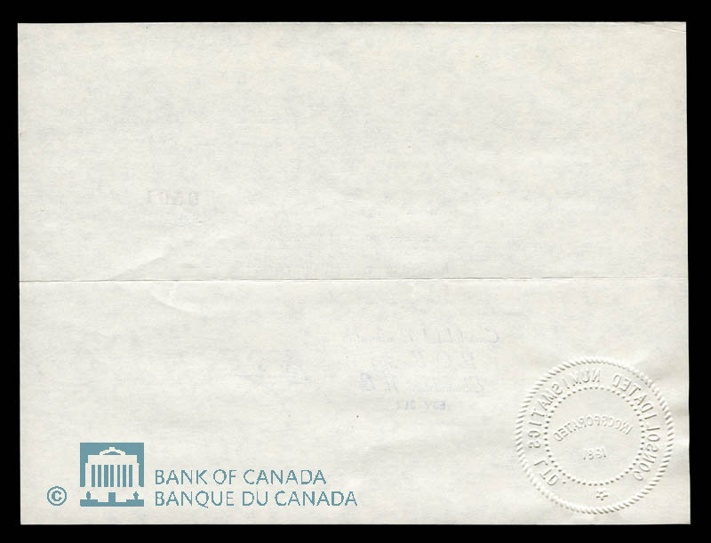 Canada, Consolidated Numismatics Limited, 1 dollar : January 28, 1982