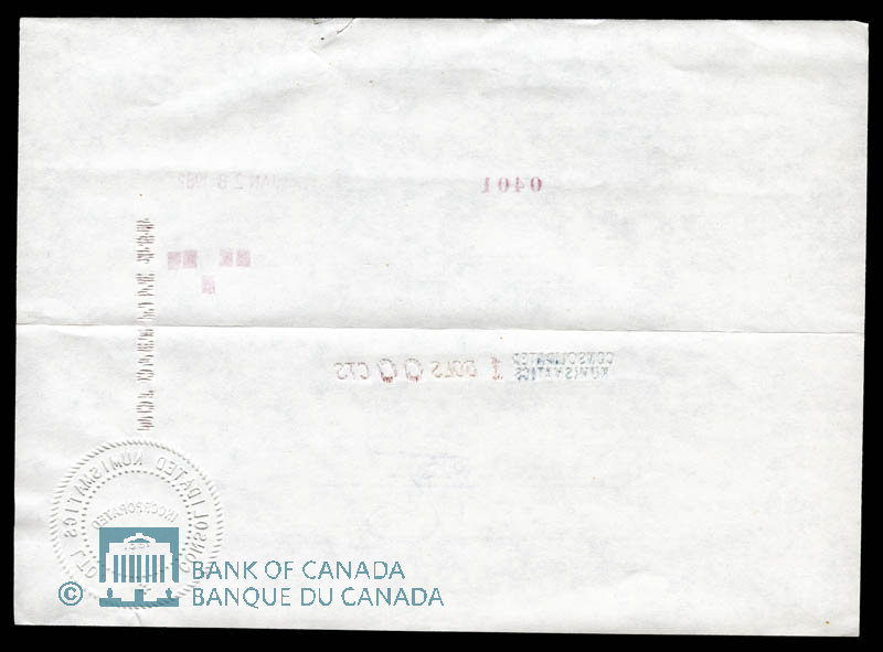 Canada, Consolidated Numismatics Limited, 1 dollar : January 28, 1982
