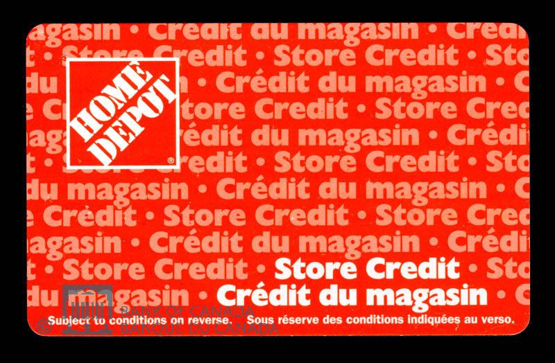 Canada, Home Depot, no denomination : 2002