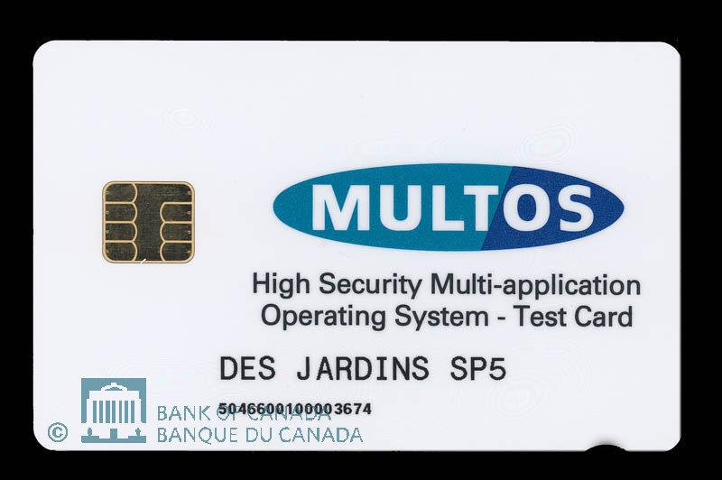 Canada, Caisses Populaires Desjardins, no denomination : 1998
