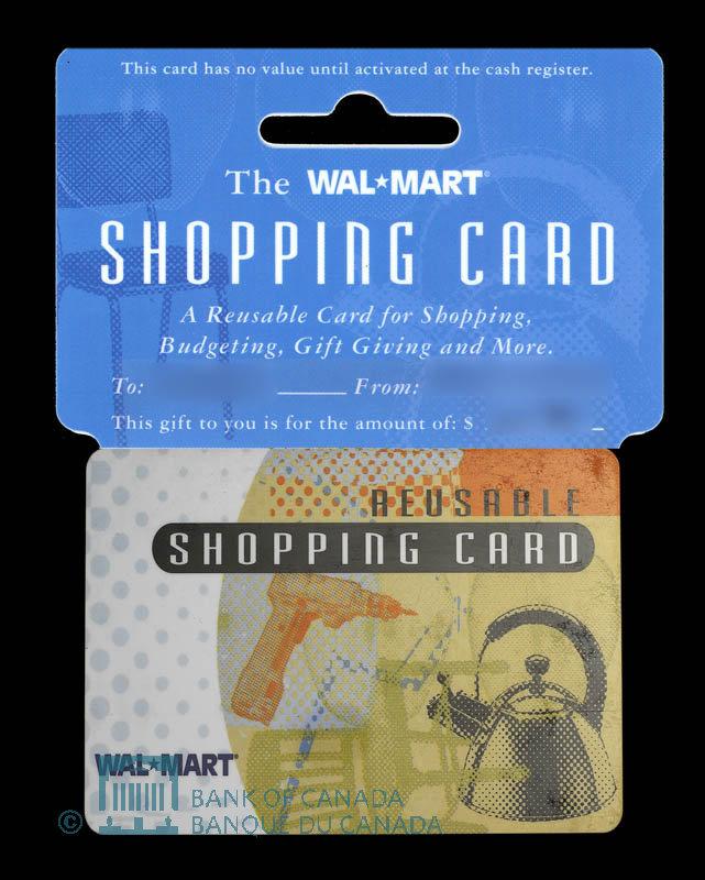 Canada, Wal-Mart, no denomination : 2004