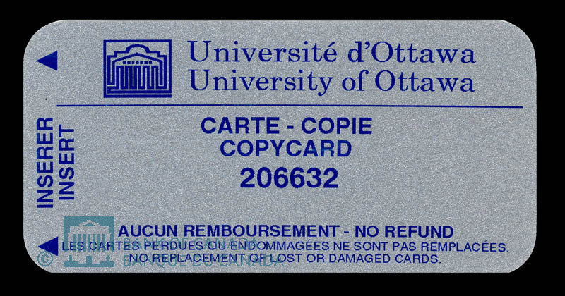 Canada, University of Ottawa, no denomination : 1999