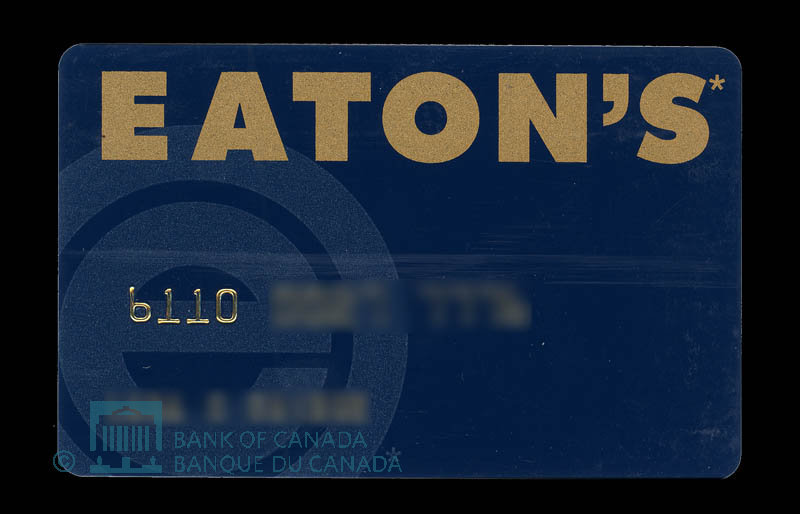Canada, Eaton's, no denomination : 1998