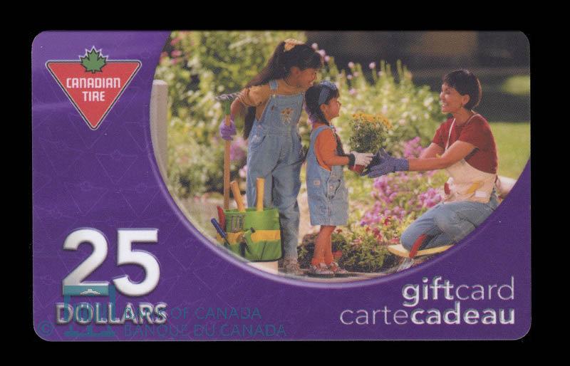 Canada, Canadian Tire Corporation Ltd., 25 dollars : 2004