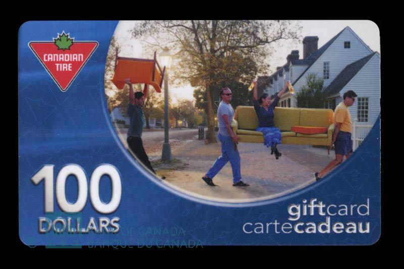 Canada, Canadian Tire Corporation Ltd., 100 dollars : 2003