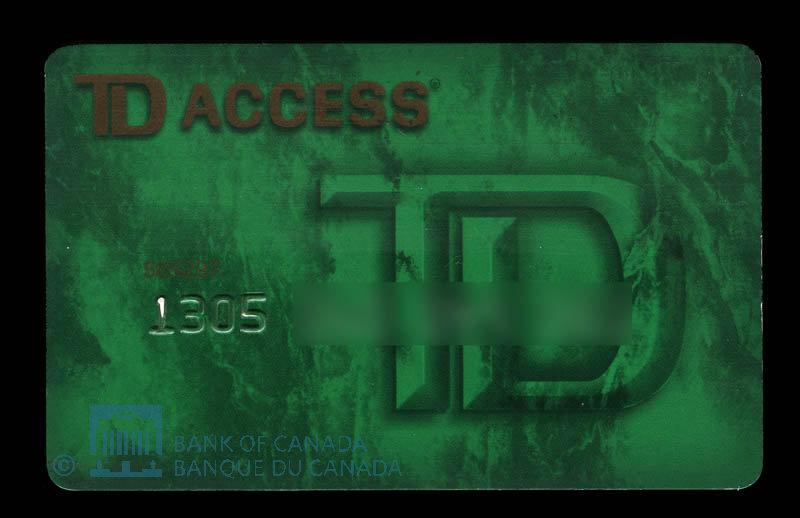 Canada, TD Bank : 1995