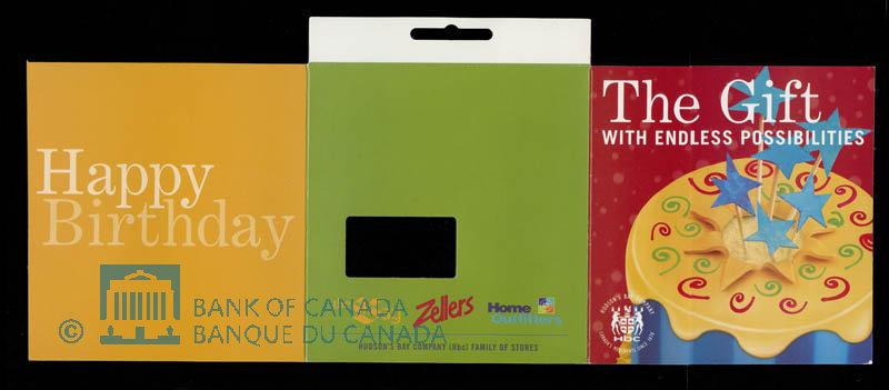Canada, Hudson's Bay Company, no denomination : 2004