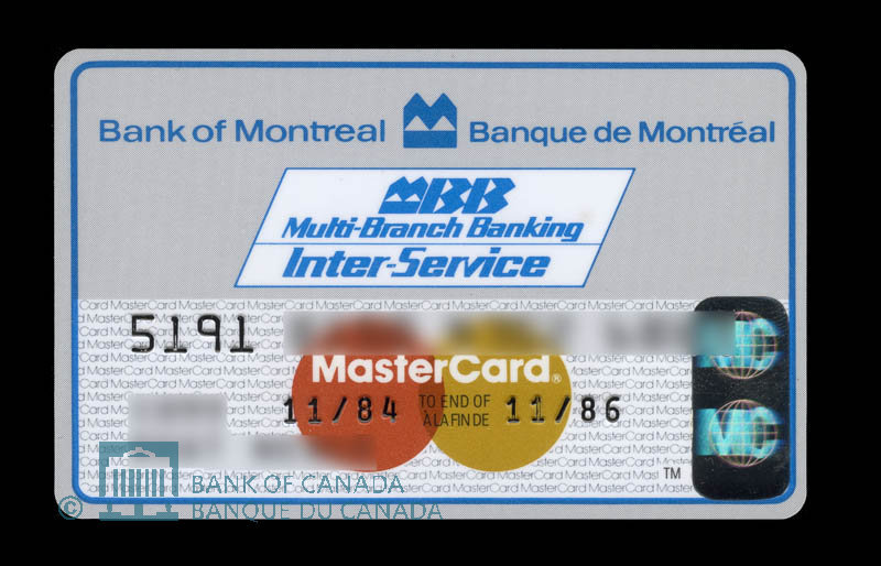 Canada, Bank of Montreal, no denomination : November 1984