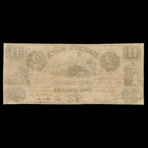 Canada, Henry's Bank, 2 piastres : June 19, 1837