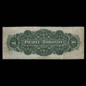 Canada, Dominion of Canada, 1 dollar : July 1, 1870