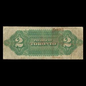 Canada, Dominion of Canada, 2 dollars : July 1, 1870