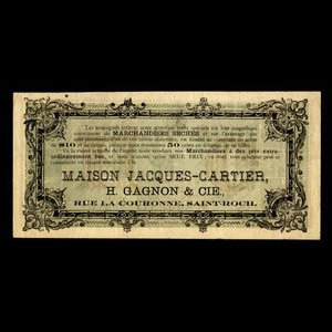 Canada, Jacques Cartier House, 50 cents : 1915