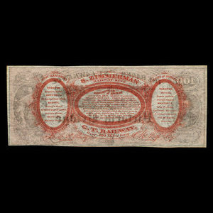 United States of America, D. Silvernail, no denomination : 1895