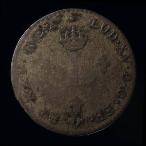 France, Louis XV, 2 sous : 1739