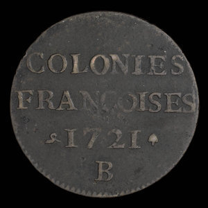 France, Louis XV, 9 deniers : 1721