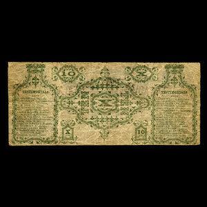Canada, E. Morris, no denomination : 1866