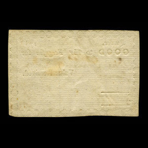 Canada, W. Cox, 1 shilling, 6 pence : July 11, 1788