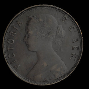 Canada, Victoria, 1 cent : 1896