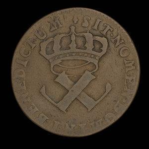 France, Louis XV, 9 deniers : 1721