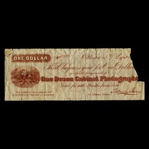 Canada, Pittaway & Jarvis, 1 dollar : September 15, 1915
