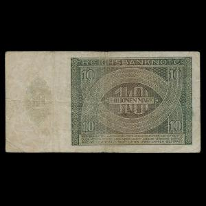 Germany, Reichsbank, 10,000,000,000,000 marks : 1924