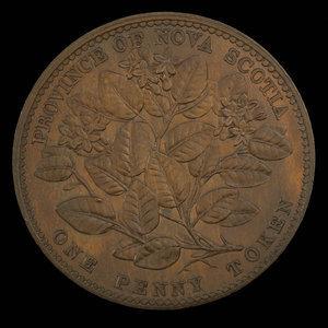 Canada, Province of Nova Scotia, 1 penny : 1856