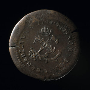 France, Louis XV, 2 sous : 1740