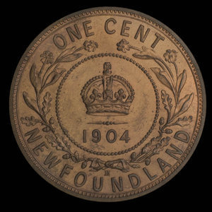 Canada, Edward VII, 1 cent : 1904