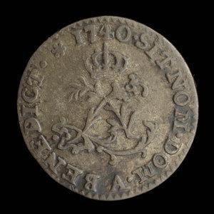 France, Louis XV, 1 sou : 1740