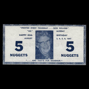 Canada, Lillooet Centennial Committee, 5 nuggets : August 6, 1967