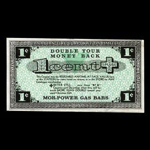Canada, Canadian Tire Corporation Ltd., 1 cent : 1960