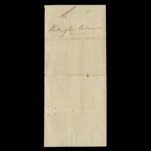 Canada, Joshua Bates, no denomination : May 28, 1856