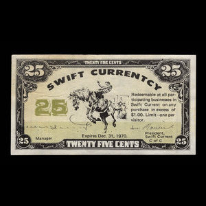 Canada, Swift Current Chamber of Commerce, 25 cents : December 31, 1970