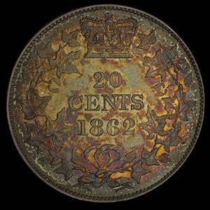 Canada, unknown, no denomination : 1862